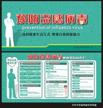 预防流感知识宣传栏