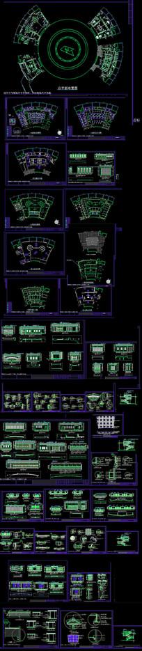 广场规划施工图