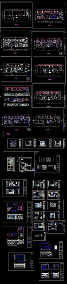会所CAD施工图