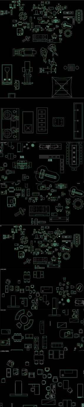 医院专用医疗器械CAD图库