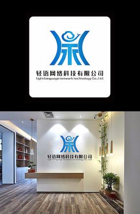 网络科技logo设计
