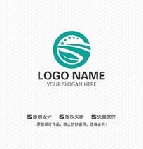 G字母简约LOGO设计