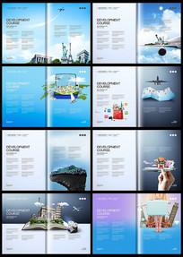出国旅游旅行度假画册设计