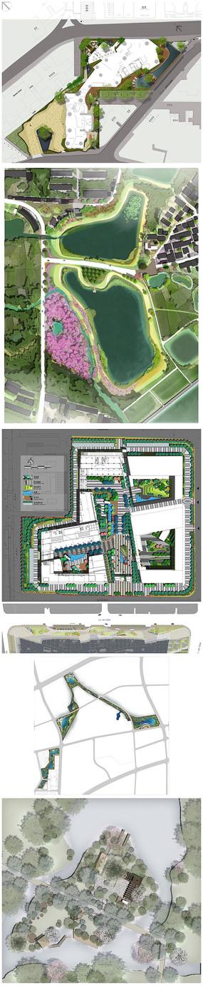 广场设计平面图