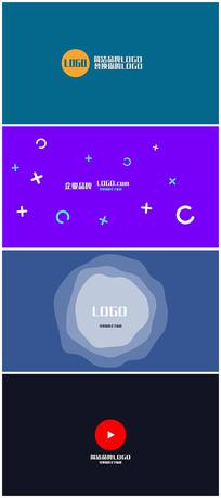 简洁logo视频模板