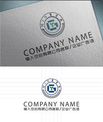 g字母书籍LOGO标志设计