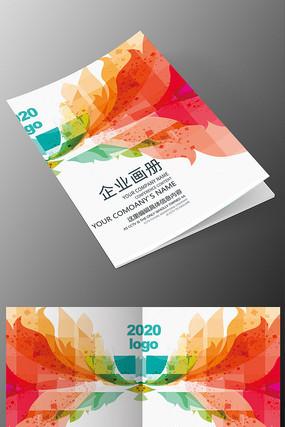 简约彩色企业封面设计
