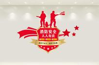 精品消防文化墙