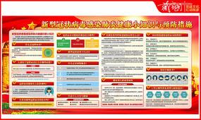 新型冠状病毒感染肺炎健康小知识宣传栏