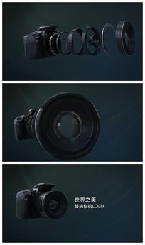 大气相机片头LOGO视频模板