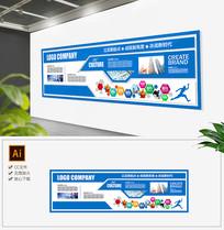 科技集团企业简介走廊文化墙