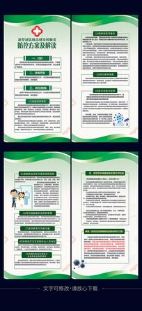 新型冠状病毒防控方案及解读海报