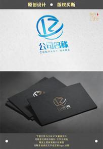 R字母标志logo Z字母标志logo
