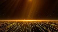 粒子光线3D背景AE模板