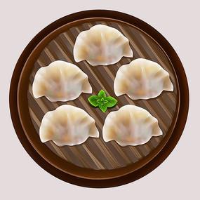 原创传统美食小吃饺子
