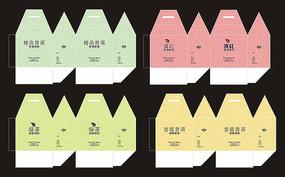 简易绿茶包装设计