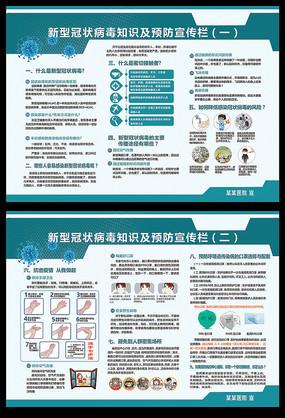 防控新型冠状病毒肺炎展板