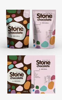 石头糖包装设计