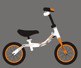 新品童车自行车车贴设计