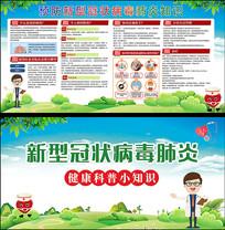新型冠状病毒知识及预防宣传栏