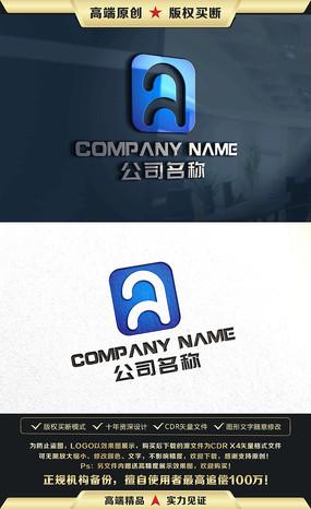 A字母标志A字母LOGO标志商标