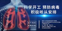 新型冠状病毒肺炎防控知识宣传栏