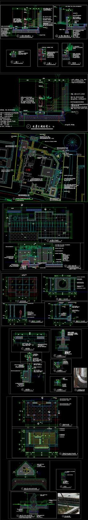 别墅庭院CAD设计详图