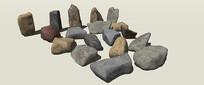su景观石头素材