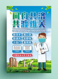 新型肺炎冠状病毒海报
