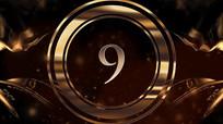 金色企业倒计时颁奖年会获奖名单pr模板