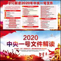 2020中央一号文件解读展板设计