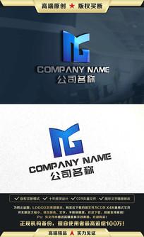 MG标志MG字母LOGO设计