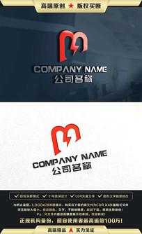 M字母标志M字母LOGO商标