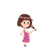 唱歌的女孩