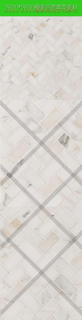 高清错纹墙砖拼花图案