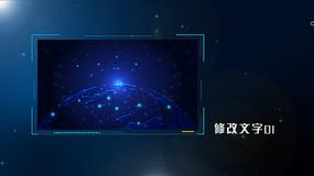 科技企业公司图文宣传展示包装pr模板