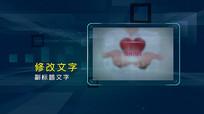 企业蓝色科技图文展示宣传包装PR模板