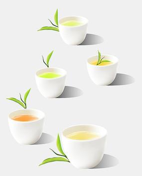 原创茶叶茶水饮品素材