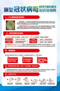 预防新型冠状病毒宣传知识医疗海报
