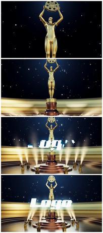 震撼颁奖logo片头视频模板