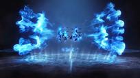 魔法图腾符号冲击揭示logo片头AE模板