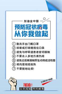 预防冠状病毒知识展板