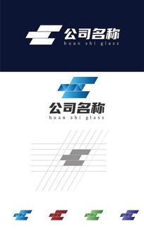 地产玻璃汽车维修企业logo