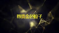 大气粒子飘舞企业宣传文字开场PR模板