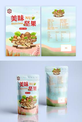 坚果立袋包装食品包装