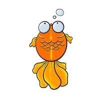可爱的大眼金鱼