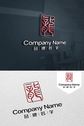 龙标志LOGO设计