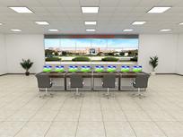 机房模型,监控室,机柜,控制室