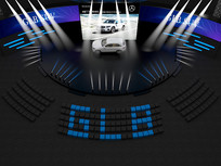 汽车展厅3D模型