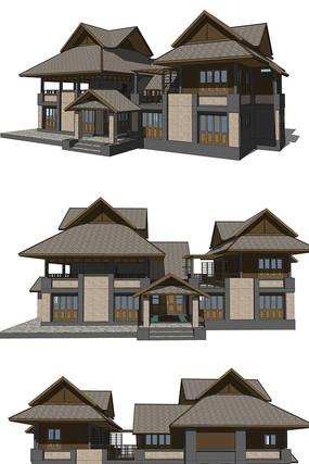 新中式别墅会所